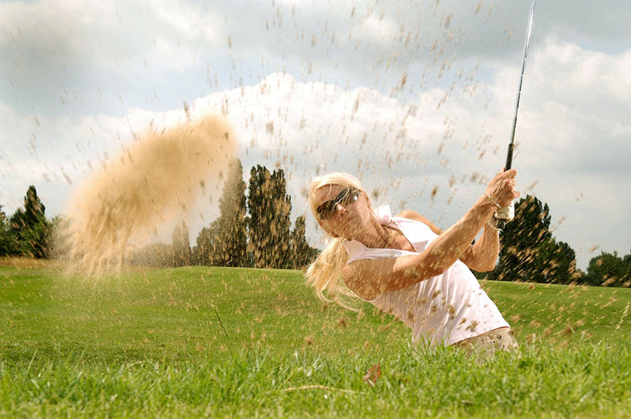 Golfspielen um Geretsried