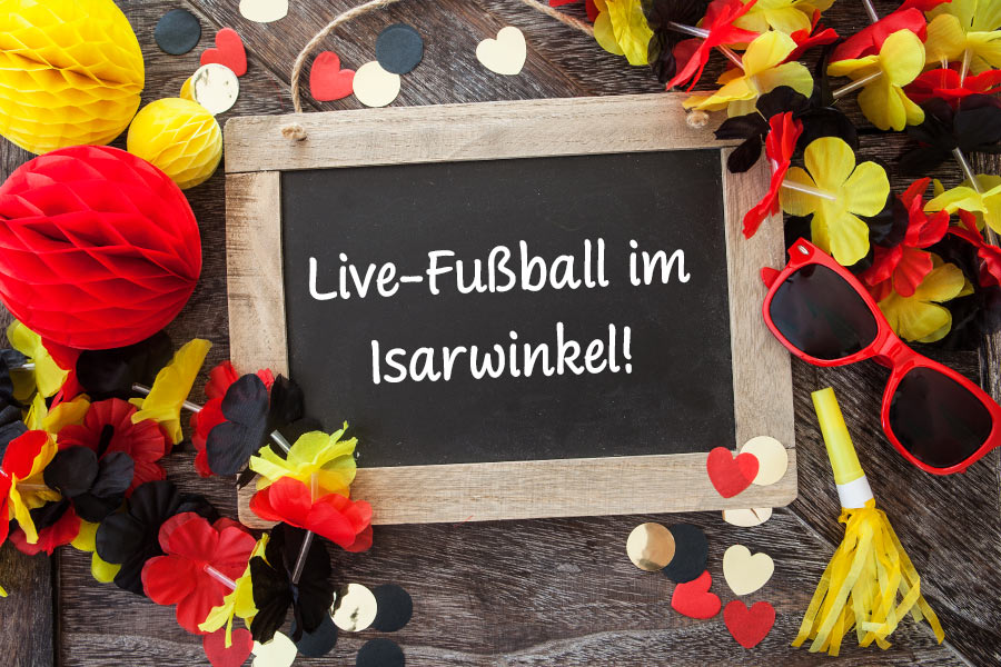 Live-Fußball im Isarwinkel